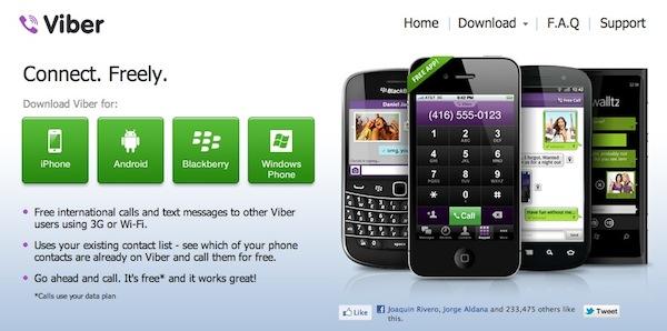 Viber windows phone blackberry Viber por fin disponible para Windows Phone y BlackBerry