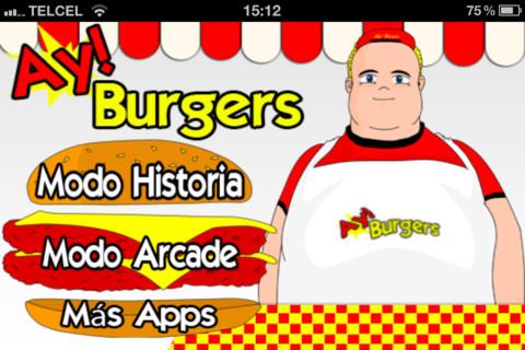 ay burger Ay Burgers, divertido juego de cocina para iPhone
