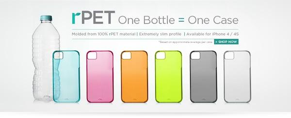 Interesantes fundas ecológicas para iPhone que son creadas a base de botellas PET
