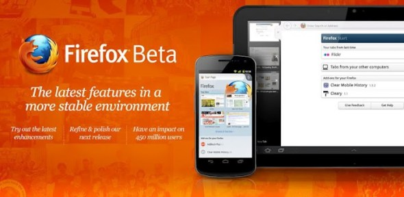unnamed1 590x288 Firefox Beta disponible para Android