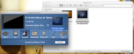 Captura de pantalla 2012 06 27 a las 18.40.24 Smart Converter, un práctico y gratuito convertidor de videos