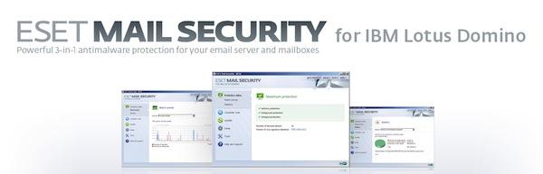 ESET presenta Mail Security para IBM Lotus y File Security para Windows Server Core