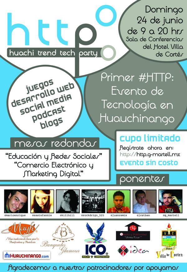 evento tecnologia huachi tech trend party Huachi Trend Tech Party 2012