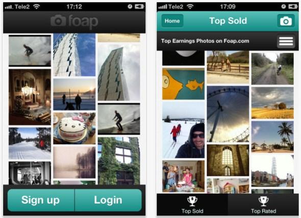 foap fotos iphone 590x428 Gana dinero con las fotos de tu iPhone gracias a la nueva aplicación Foap