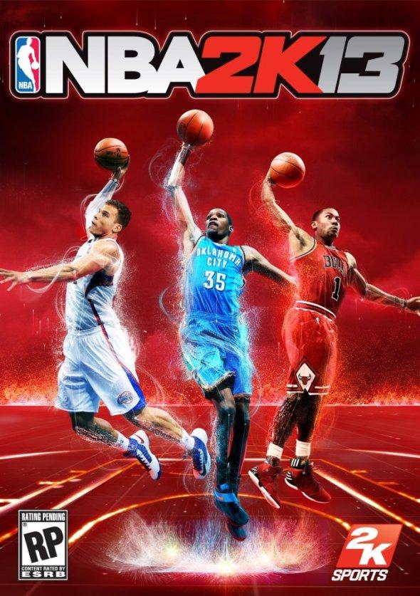 nba 2k13a 590x837 2K Sports presenta la portada de NBA 2K13 con 3 estrellas de la NBA