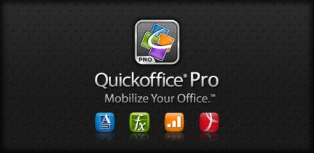 Google adquiere a QuickOffice, suite ofimática móvil