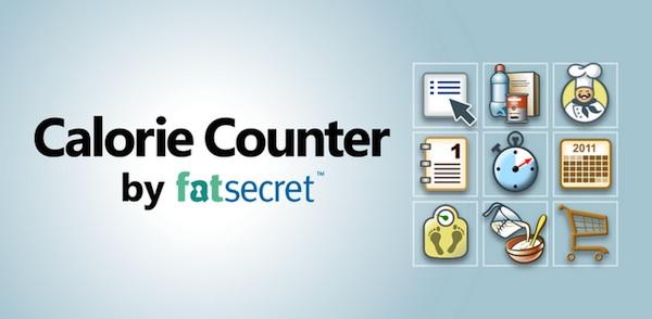 Calorie counter by fatsecret Controlar la dieta con tu celular
