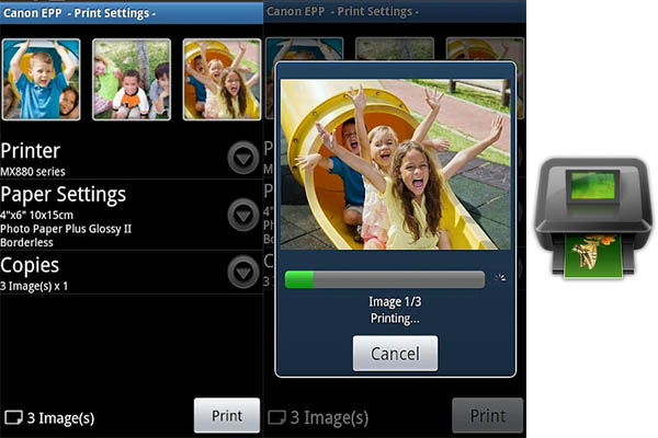 Canon Easy Photo Print Android Canon lanza Easy PhotoPrint para Android