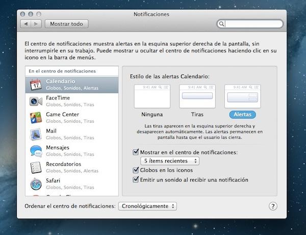 Centro notificaciones osx mountain lion OS X 10.8 Mountain Lion, uno de los mejores sistemas operativos de Apple [Reseña]