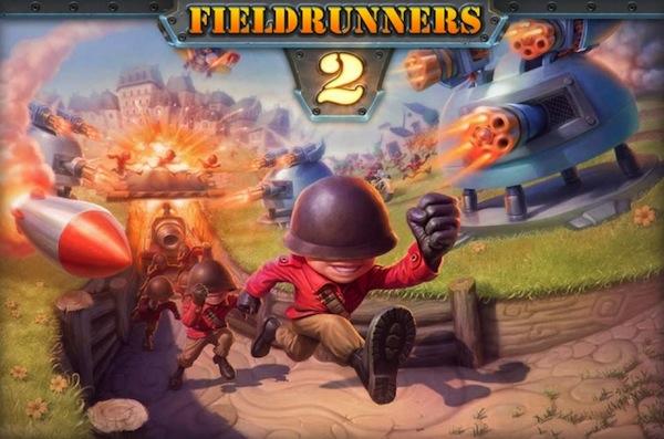 Fieldrunners 2 disponible en la App Store para descargar