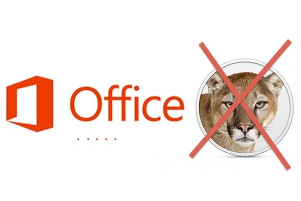 Office 2013 No OS X s Microsoft confirma que no habrá Office 2013 para OS X