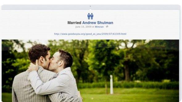 gay marriage 590x331 Facebook añade iconos de relación para matrimonios de personas del mismo sexo