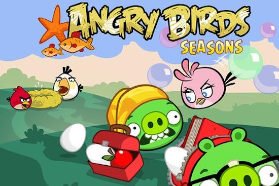 Angry Birds Seasons se actualiza y nos presenta a su nuevo pájaro femenino