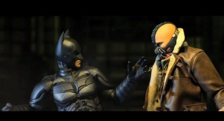 Batman: The Dark Knight Fall, un genial corto realizado con la técnica Stop Motion