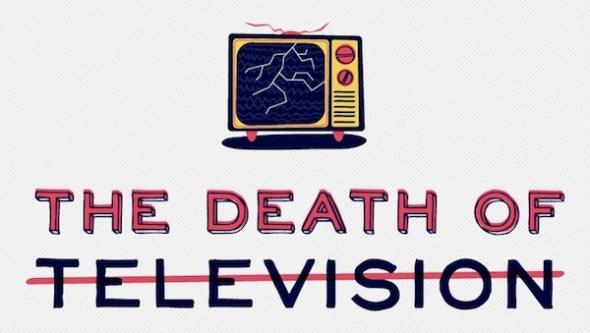 La muerte de la tv 590x333 La muerte de la Televisión [Infografía]