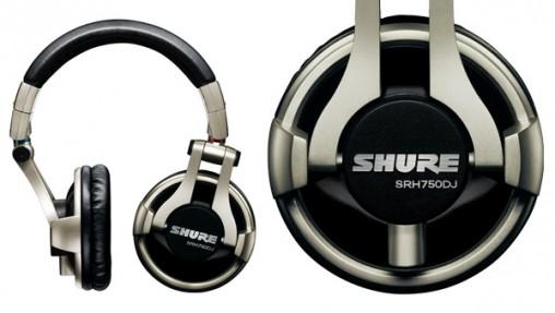 SRH750DJ shure 4 audífonos que suenan mejor que los Beats by Dr. Dre (y son mas baratos)