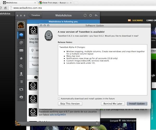 Tweetbot mac v0.6.3 Tweetbot para Mac se actualiza y añade soporte para columnas