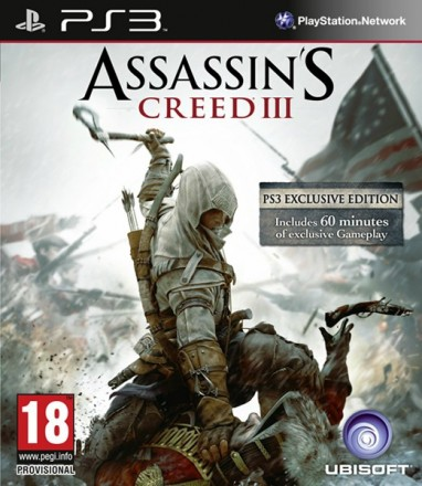 assassins creed III PS3 Assassins Creed 3 para PS3 tendrá 60 minutos de gameplay exclusivo