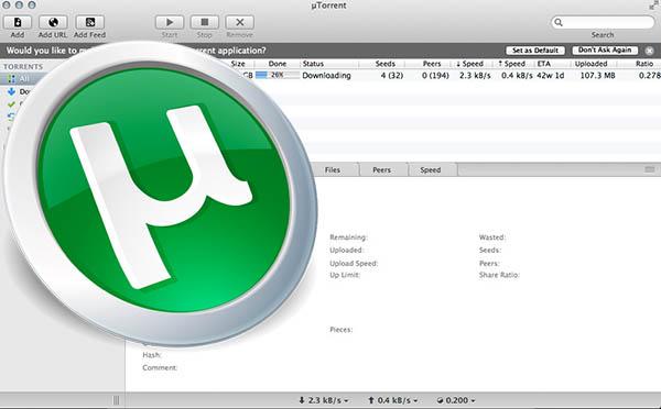 utorrent cliente torrent uTorrent, uno de los mejores clientes para descargar torrents