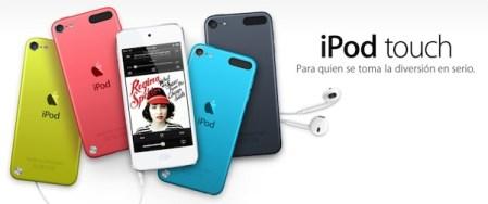 Nuevos iPod Touch e iPod Nano son presentados por Apple