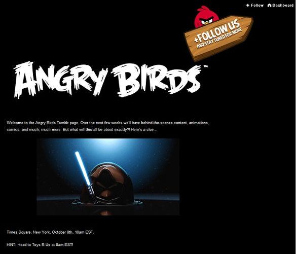 angry birds star wars Rovio lanzará versión de Angry Birds inspirada en Star Wars [Rumor]