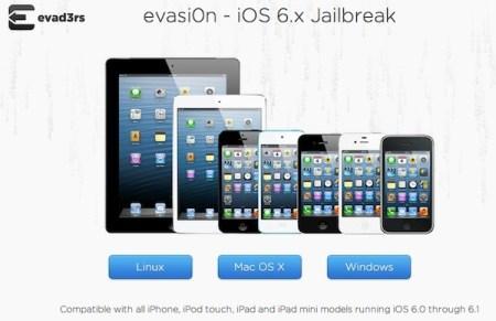 Jailbreak Untethered para iOS 6.1 disponible con evasi0n