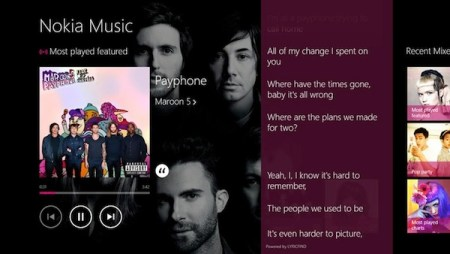 Nokia Music para Windows 8 y RT es lanzado oficialmente