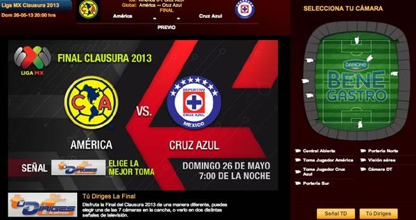 america cruz azul en vivo final América vs Cruz Azul en vivo, Final Clausura 2013
