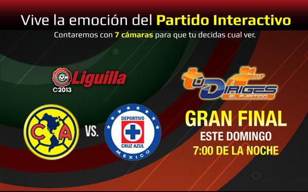 final america vs cruz azul en vivo Cruz Azul vs América en vivo, Final Clausura 2013