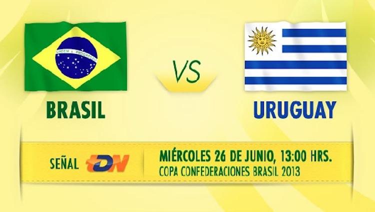 Brasil uruguay en vivo confederaciones 2013 Ver Brasil vs Uruguay en vivo, Copa Confederaciones 2013