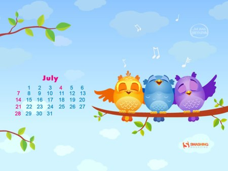 Fondos de pantalla del mes de Julio 2013