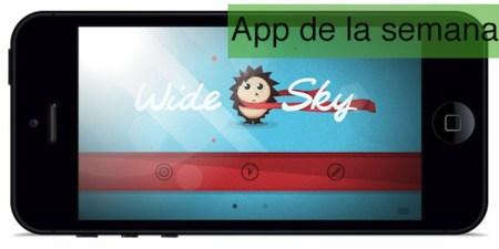 App de la semana en iOS: Wide Sky