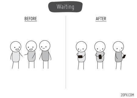 La Vida Antes y Después de los Smartphones [Humor]