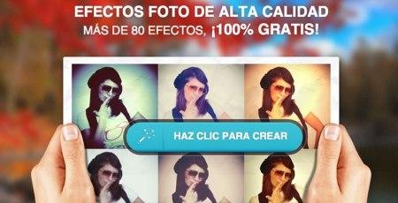 Efectos para tus fotos gratis en Rollip