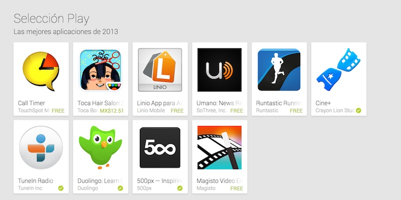 Mejores apps y juegos android 2013 Las mejores apps y juegos para Android del 2013 según Google