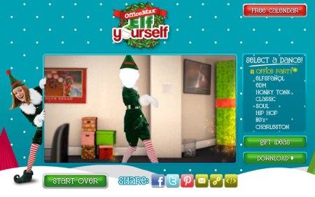 Crear postales de navidad animadas y divertidas en ElfYourself