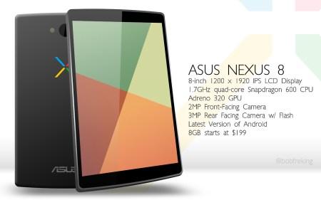 Google se pasaría a Intel con el supuesto Nexus 8