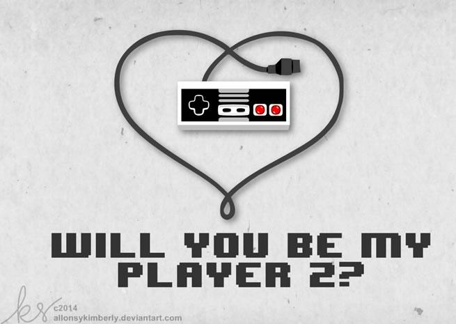 tarjetas san valentin nintendo Tarjetas de San Valentín para Gamers que puedes imprimir
