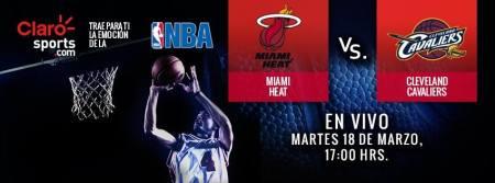 Ver la NBA en vivo por Internet: Miami Heat vs Cavaliers de Cleveland