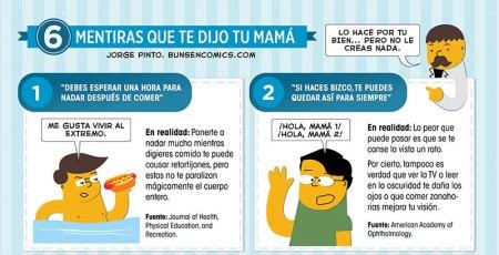 Las frases y mentiras que te dijo tu mamá de niño [Humor]
