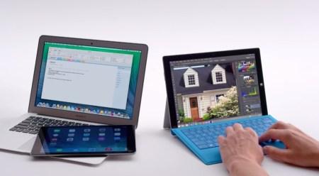 Microsoft ridiculiza a Apple con los nuevos comerciales de la Surface Pro 3