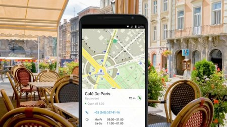 MAPS.me para Android ya te muestra información de negocios