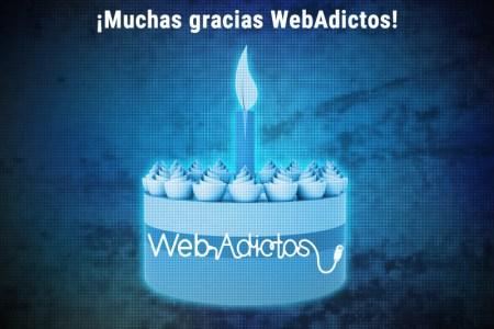 WebAdictos cumple 8 años ¡Muchas gracias WebAdictos!