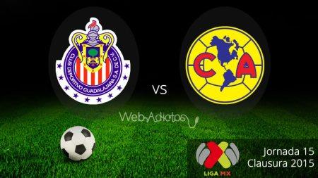 Chivas vs América, Clásico en el Clausura 2015