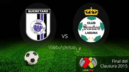 Querétaro vs Santos, Final de la Liga MX C2015