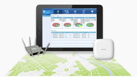 CWM-100, el software de D-Link para administradores de red