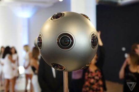 Nokia lanza OZO, una cámara de realidad virtual