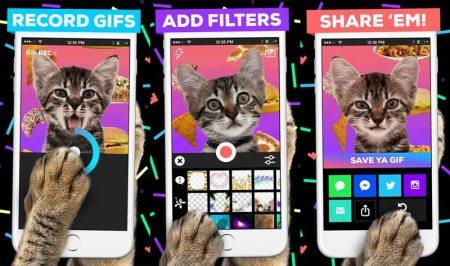 Giphy Cam te permite crear gif animados desde tu iPhone de manera sencilla