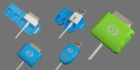 Crean práctico protector para impedir rompimiento en cables USB del iPhone