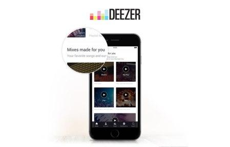 Deezer rediseña su pantalla de inicio en dispositivos móviles y web